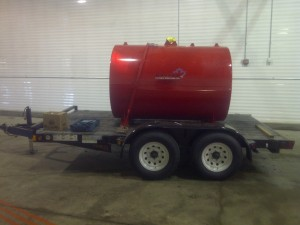 Portable fuel skid
